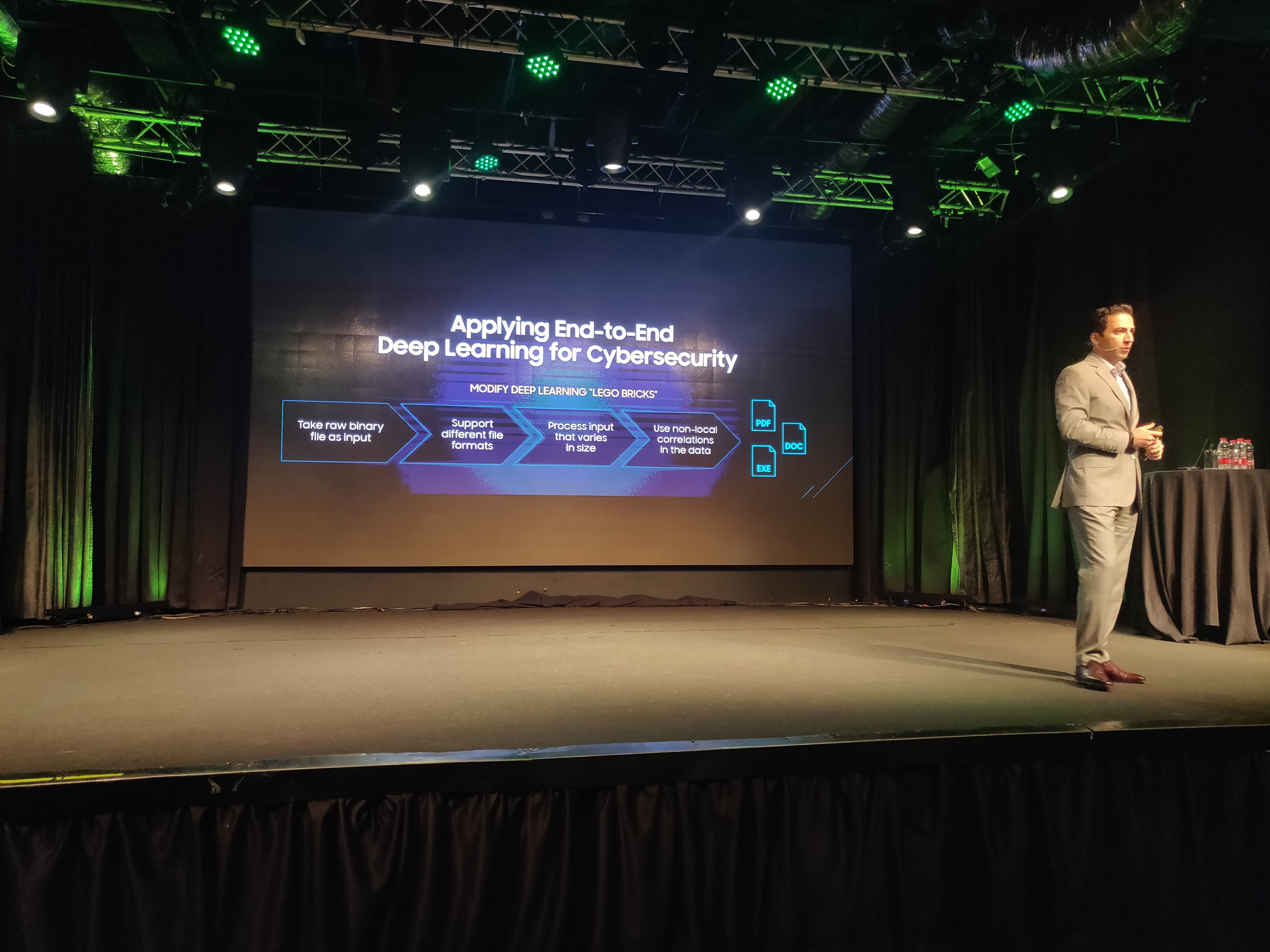 Deep Instinct at Nvidia special event 2019