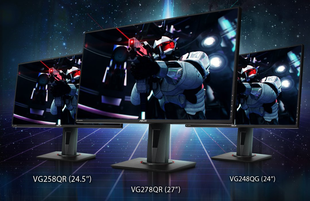 ASUS Announces Three New NVIDIA G-SYNC Compatible Gaming Monitors
