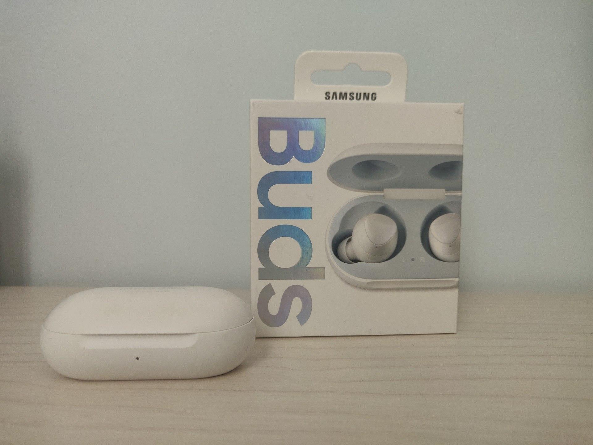 Samsung galaxy buds box