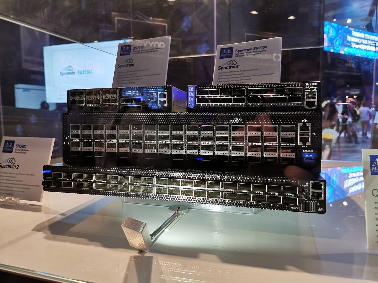 Mellanox switches at bynet expo 2019