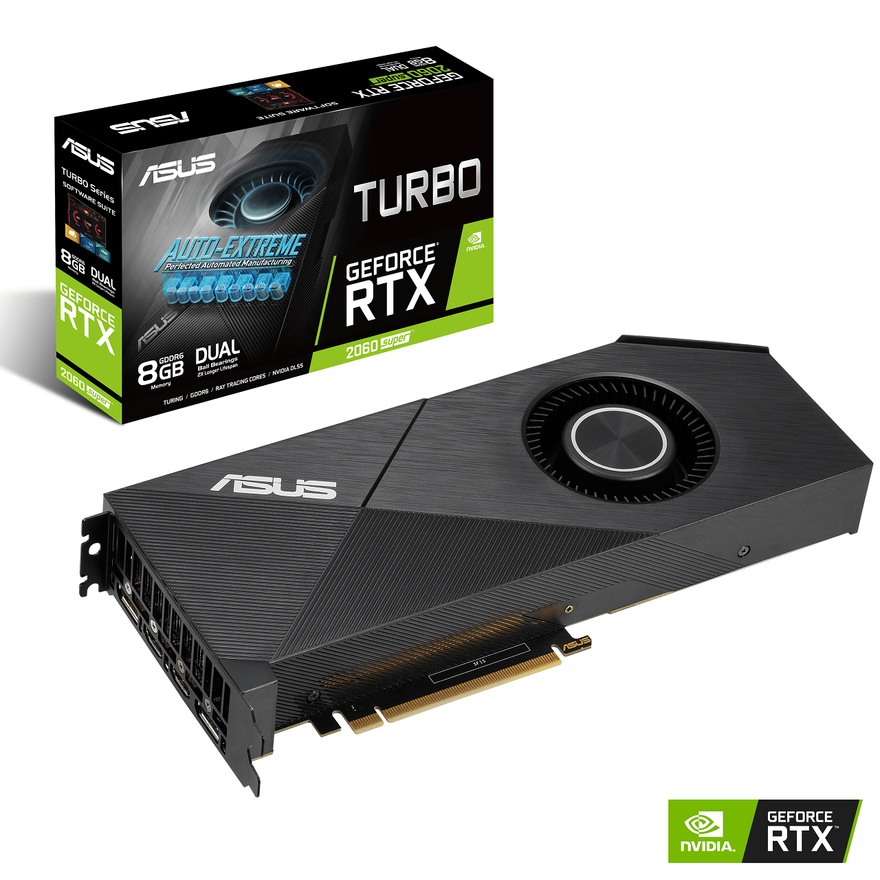 Nvidia Asus RTX 2080 SUPER TURBO
