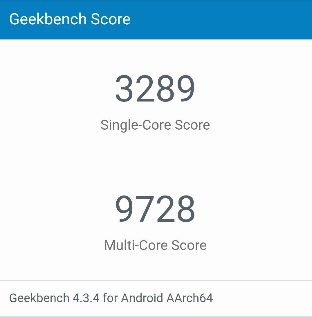 huawei p30 pro Geekbench 4 results