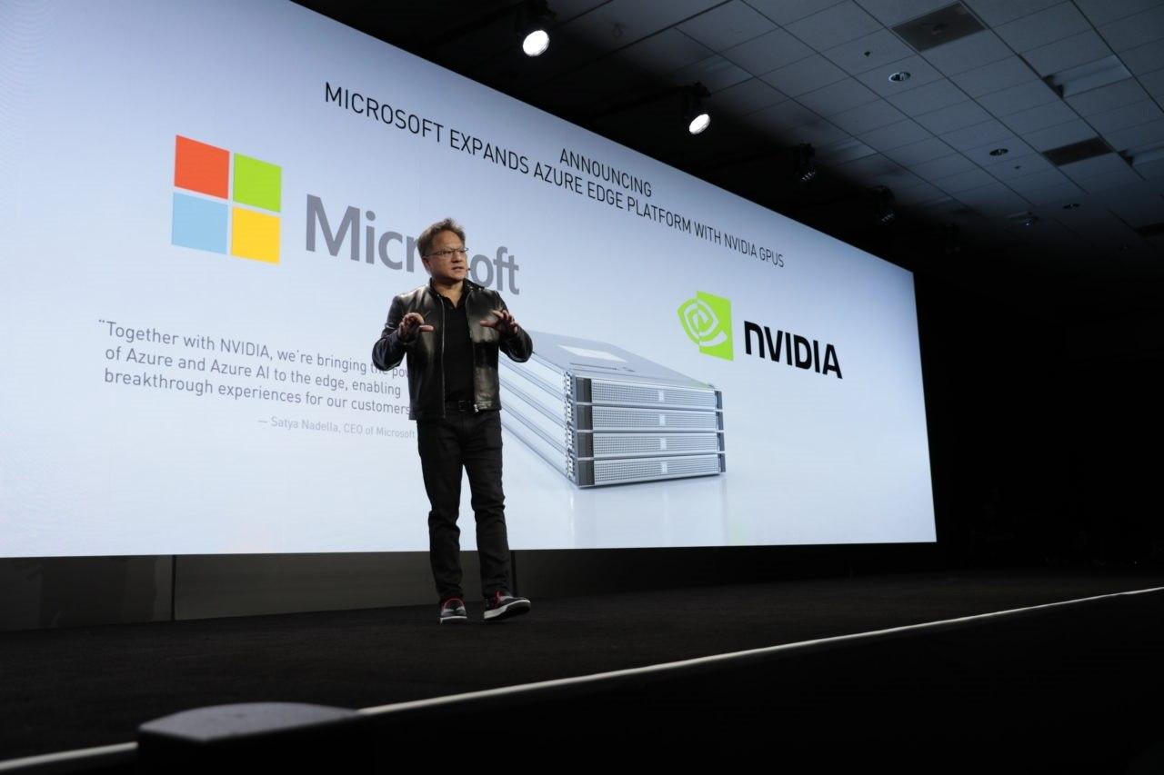 nvidia microsoft edge computing world mobile congress