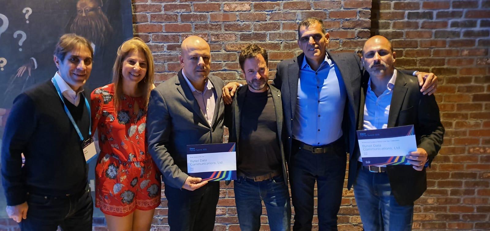 בינת תקשורת מחשבים זכתה בפרס של חברת סיסקו העולמית