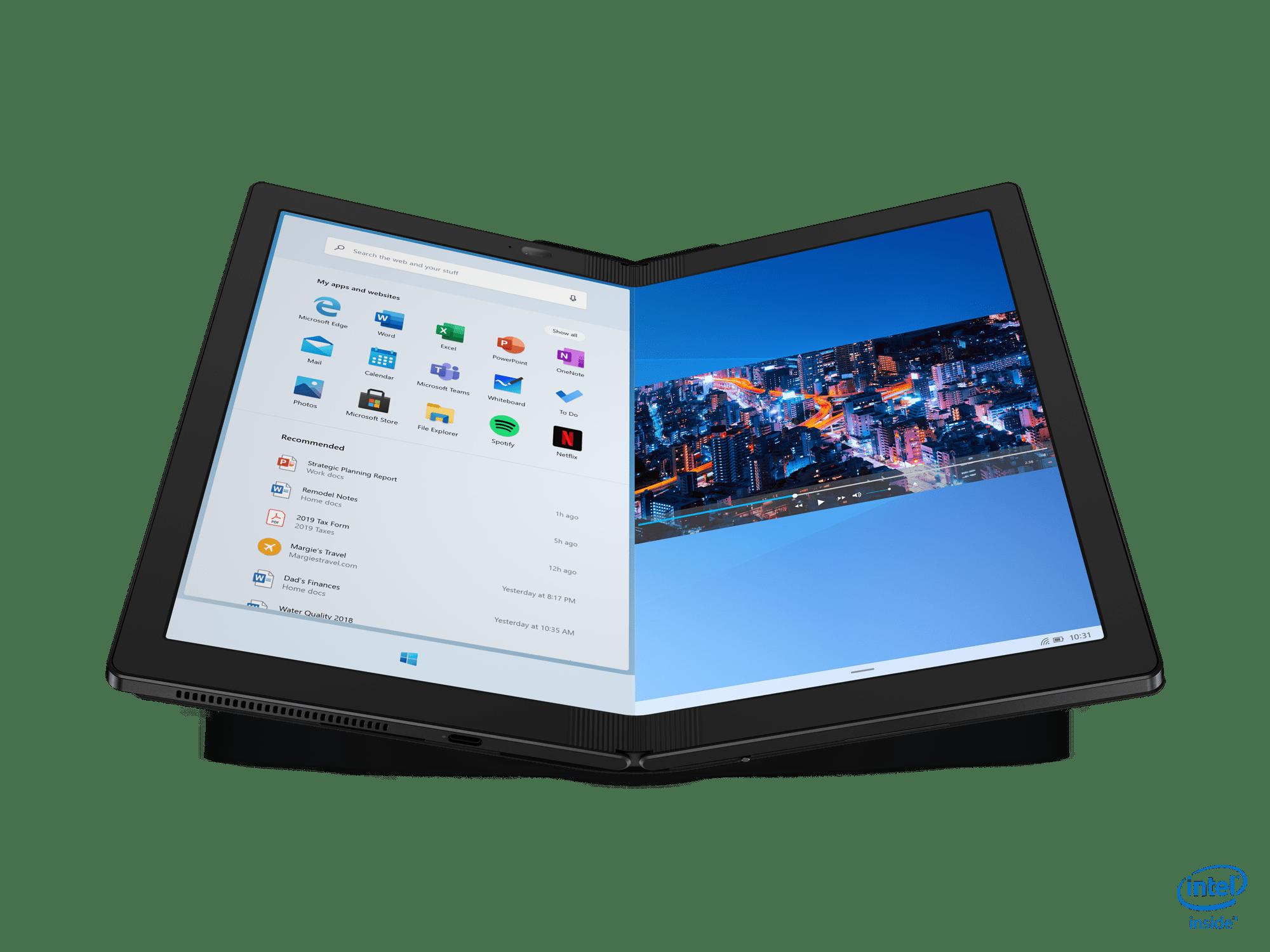 לנובו משיקה מחשב מתקפל מסדרת ThinkPad X1