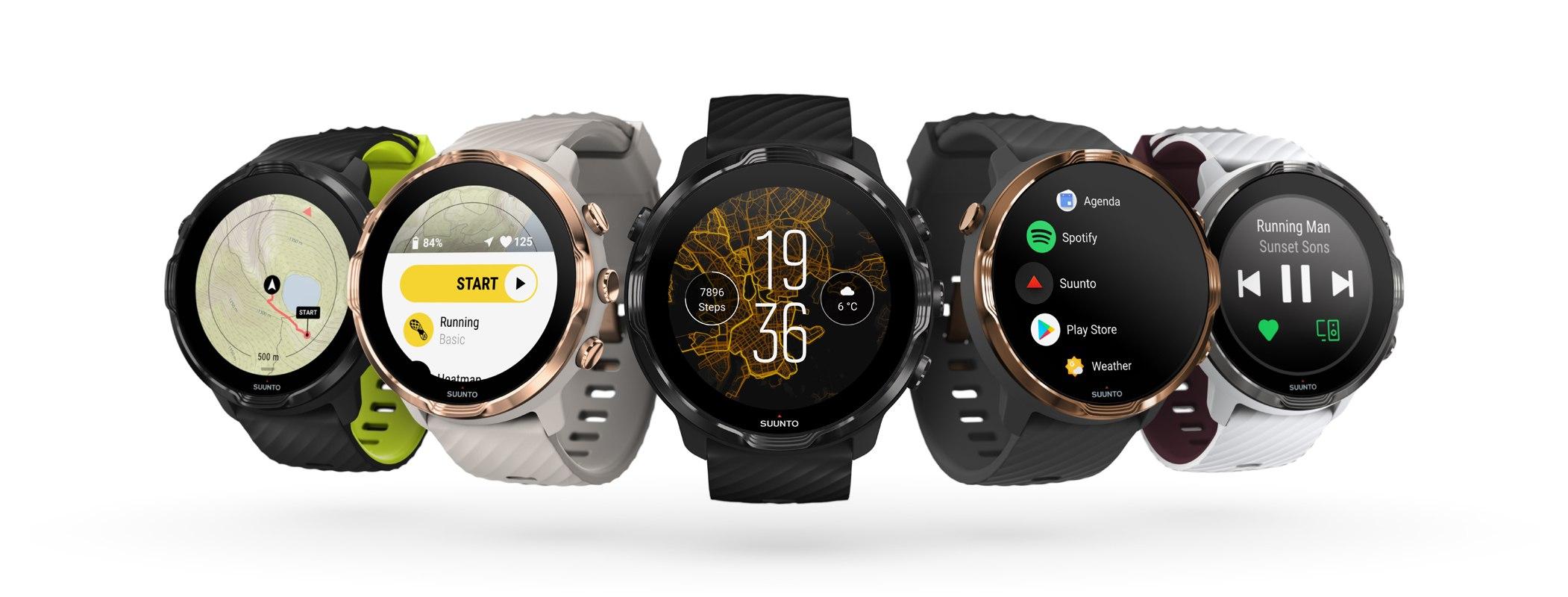 חברת Suunto משתפת פעולה עם Google ומכריזה על שעונים חדשים ב-CES